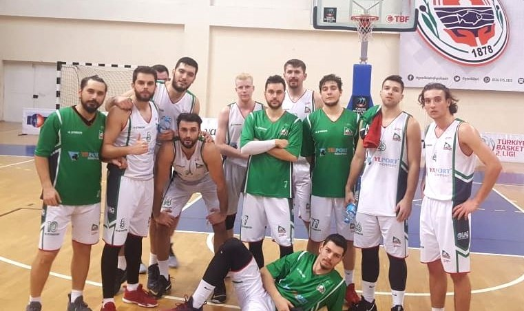 GEMLİK BASKETBOL'DAN 46 SAYI FARK
